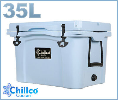 35L Chillco Ice Box Cooler Esky Chilly Bin Superior Ice Retention