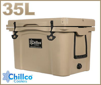 35L Chillco Ice Box Cooler Chilly Bin Superior Ice Retention