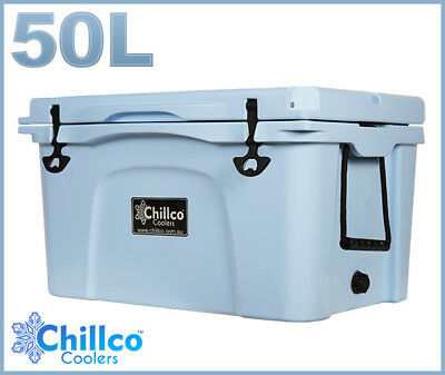 50L Chillco Ice Box Cooler Esky Chilly Bin Superior Ice Retention