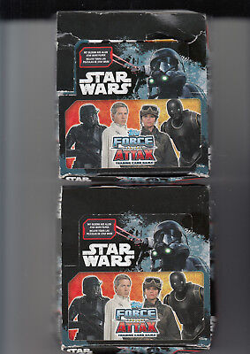 ZWEI MAL TOPPS - Star Wars Force Attax - Trading Cards 24er Display =240 Karten