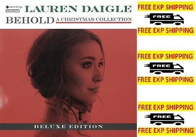 Behold Deluxe by Lauren Daigle Audio CD Centricity Music 829619175325 NEW