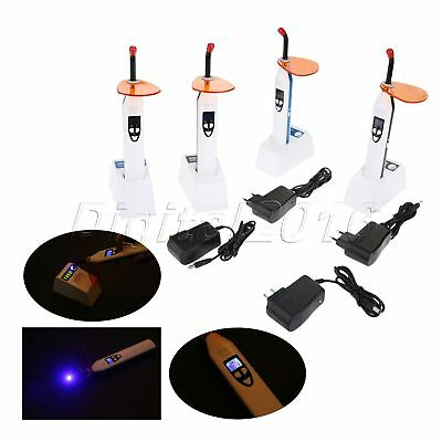 US/EU Plug Dental Wireless LED Curing Light 1200-2000mw/cm2 Four Working Models