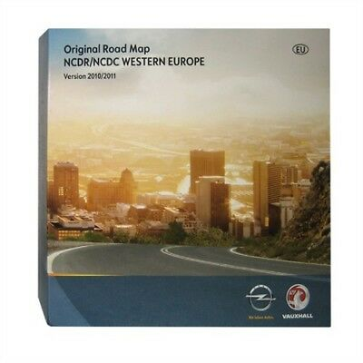 CD GPS Opel Vauxhall 2011 NCDC NCDR navigation Europe Mise à Jour