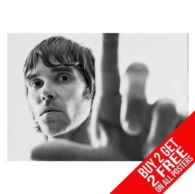 Ian Brown The Stone Roses Cc1 Poster A4 A3 Size Print - Buy 2 Get Any 2 Free