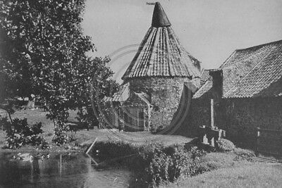 Photo 6x4 The Water Mill At East Linton East Lothian 1930s