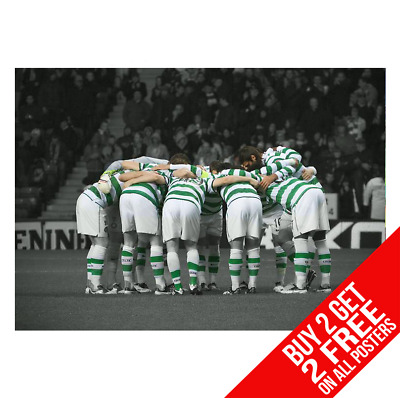 The Celtic Huddle Poster A4 A3 Size Print - Buy 2 Get Any 2 Free
