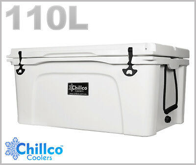 110L Chillco Ice Box Cooler Chilly Bin Superior Ice Retention