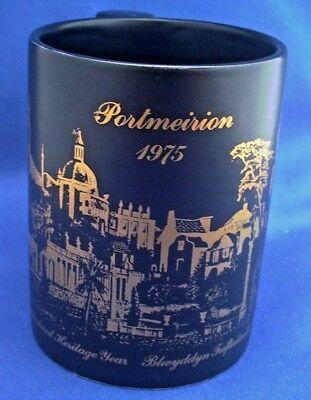 Portmeirion Mug. European Architectural Heritage Year 1975 (Wales)