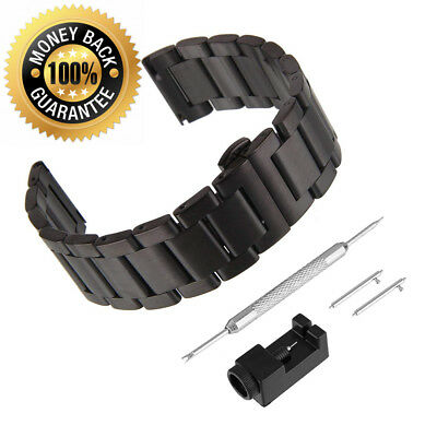 Bewish watch straps, stainless steel replacement strap - solid metal,...