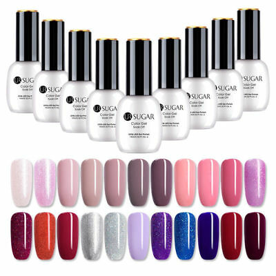 UR SUGAR 15ml Esmalte de Uñas UV Gel Arte de Uñas Nail UV Gel Polish Top Coat
