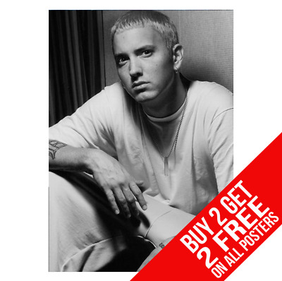 Eminem Poster A4 A3 Size Dd1 Print - Buy 2 Get Any 2 Free