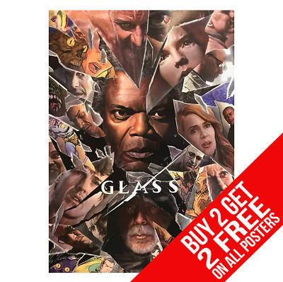 Glass Movie Poster A4 A3 Size Bb1 Print - Buy 2 Get Any 2 Free