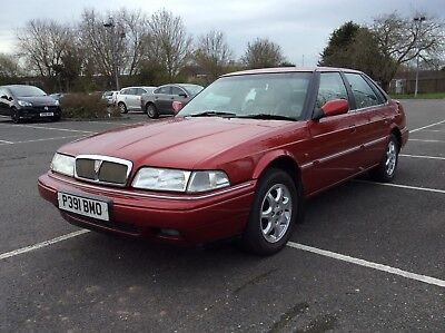 Rover 820 Sli , 5 Speed Saloon, 1996, History,mot 2019,rare Car Today, Excellent