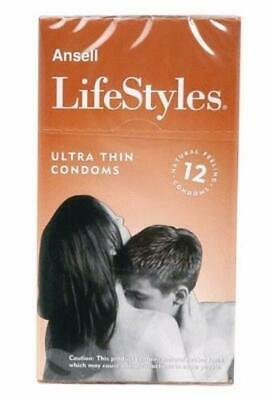 Ansell Lifestyles 12s Ultra Thin (Nuda)