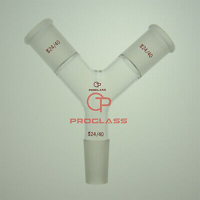 Proglass Adapters Inlet, Inner Joint,with Frited Disc,24/40