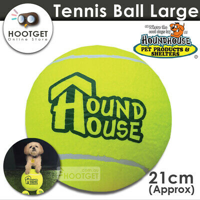 [Large] Houndhouse Big Dog Tennis Ball Pet Puppy Interactive Play Fetch Toy AU