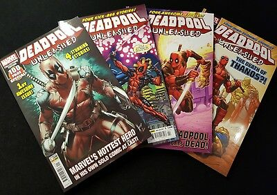 Deadpool Unleashed Vol1 #1-4 (2017) - Complete Thanos Run - Panini Comics UK