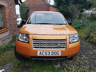 Landrover Freelander 2 Orange, and black leather seats, tow bar