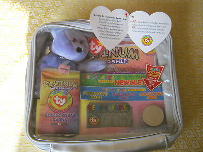 c1065f43692 TY BEANIE BABY Collectors Card Ally The Alligator  4032 Shiney Foil ...