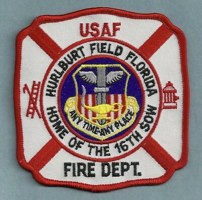 Area 51 Crash Fire Rescue Patch //// Aircraft Airport Groom Lake Nevada UFO