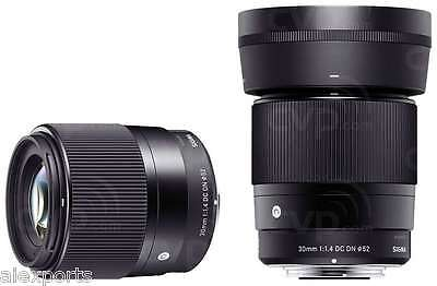 Sigma 30mm f/1.4 DC DN Contemporary Lens Sony E Fit/Mount