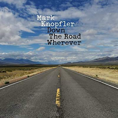 Mark Knopfler Cd - Down The Road Wherever (2018) - New Unopened - Blue Note