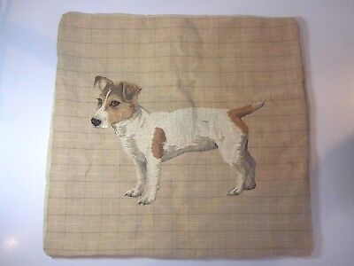 Grafitec Printed Tapestry//Needlepoint Canvas Jack Russell Terrier