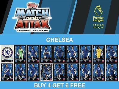 Match Attax 2018/19 18/19 CHELSEA
