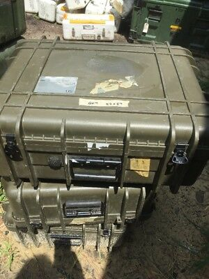 "UK Underwater Kenetics Military Shipping Case | 24"" x 20.5"" x 10""..Free Shipping"