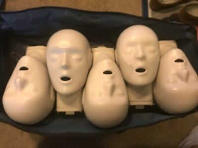 CPR Prompt Adult/Child Manakin 5-Pack BLUE W/Carry Bag