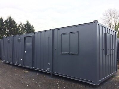 32x10FT SITE OFFICE WITH TOILET 2+1 / SITE CABIN  / SITE TOILET / 4800 + VAT