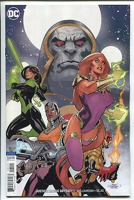 Justice League Odyssey #1 - Terry Dodson Virgin Variant Cover - Dc Comics/2018