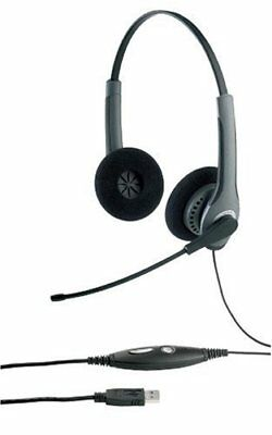 Jabra GN2000 USB Duo Stereo Sound Tube IP USB Headset  (20001-091)
