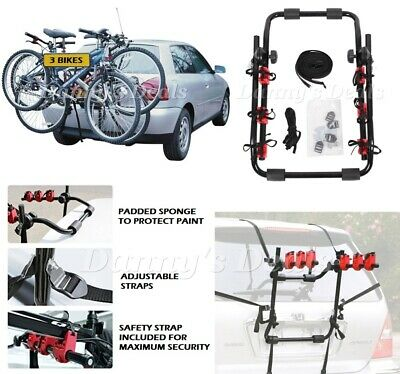 Triple 3 Bike Carrier Cycle Rear Boot Rack For Vauxhall Zafira 1999-2005