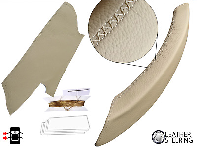 Door Handle Cover BMW X5 & X6 Genuine Beige Leather - Left (E70, E71, E72 06-14)