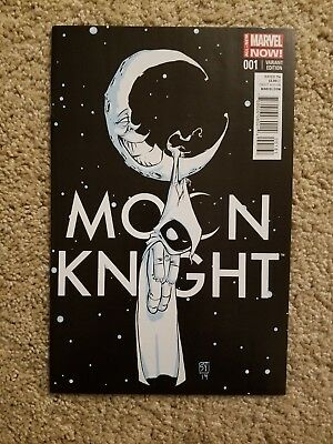 Moon Knight #1 Skottie Young Baby Variant 2014 Marvel