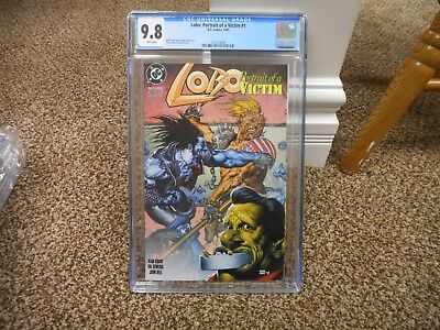 Lobo Portrait of a Victim 1 cgc 9.8 DC 1993 GREAT cover MINT movie coming WHITE