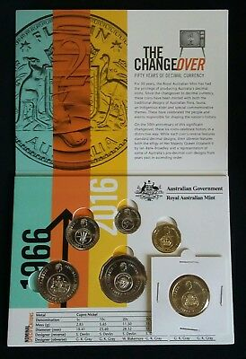 2016  Royal Australia mint Change Over  Folder