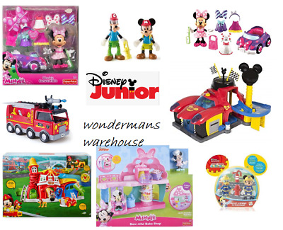 Disney Junior Mickey/Minnie Mouse Clubhouse Toy Playsets - Brand New