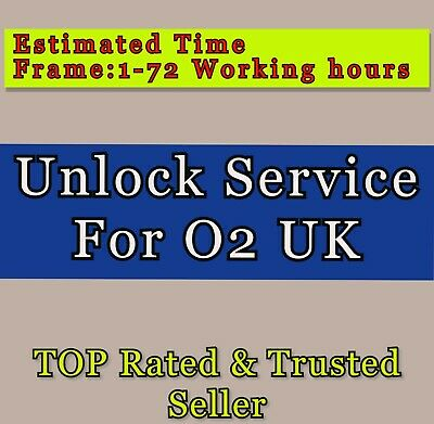 UNLOCKING service For Samsung Galaxy S2 S3 S4 S5 S6 S7 S8 Unlock Code for O2 UK