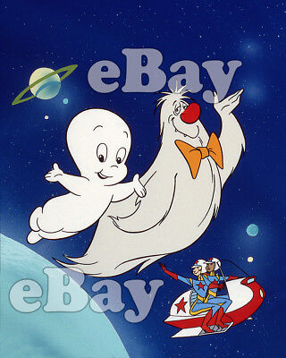 Rare! CASPER AND THE ANGELS Cartoon Color TV Photo HANNA BARBERA Studios