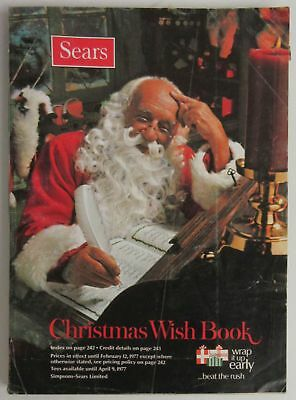 1976 Sears Christmas Wish Book Catalogue