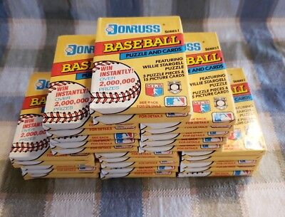 1991 Donruss Baseball Series1 27 Sealed and Unopened  Wax Pack Of Cards.