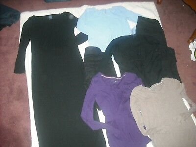 Womens Maternity Lot 7 Gap Tops Old Navy Jeans Size Extra Small XS