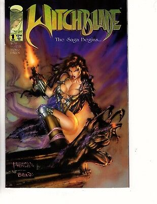 (B4) Witchblade #1 NM  *Early Michael Turner Artwork*