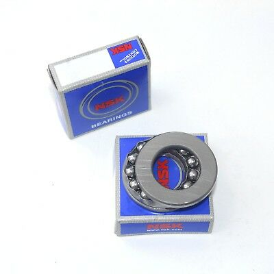 Size 35mmX62mmX18mm 51207 NSK Thrust Ball Bearing