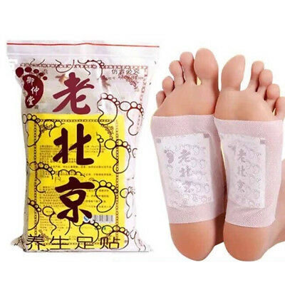 Detox Foot Pads Patch Detoxify Toxin Adhesive Keeping Fit Health Care 10/50PC WB