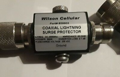 Wilson 859902 Amplifier & Repeater Coaxial Lightning Surge Protector