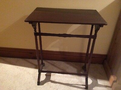 Antique Quality Vintage  RETRO  Antique SIDE TABLE WITH FRENCH Legs VGC