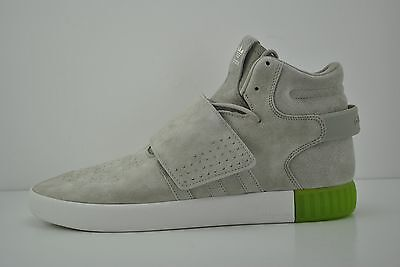 more photos 9af61 05933 MENS ADIDAS TUBULAR Invader Strap Shoes Sneakers Size 13 Grey Gray White  BB5040